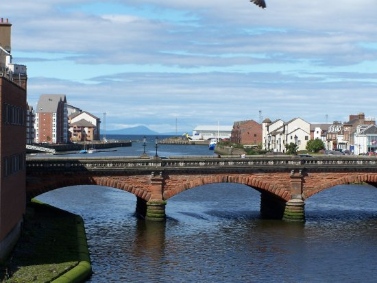 Ayr looking out to the islands