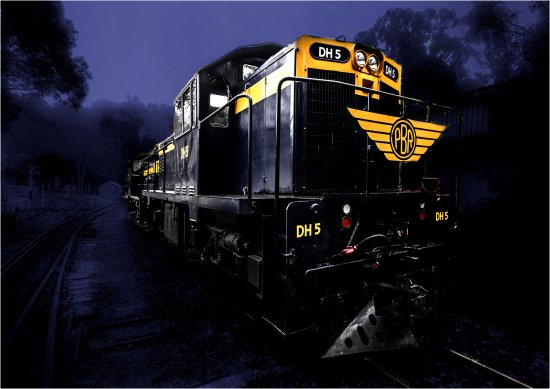 night train transport australia
