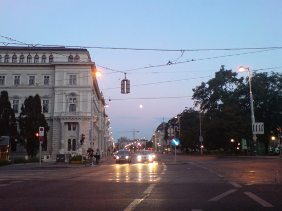 vienna summer night