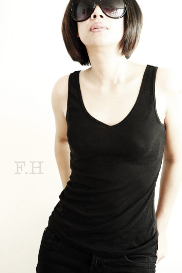 It's been awhile. Hello fotothingers!!! :D. Ok here is my latest self-portrait oh yes i'm getting...