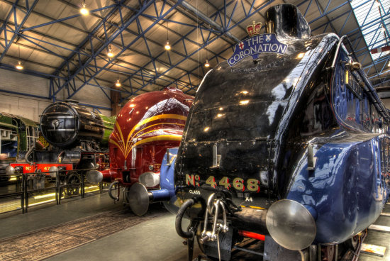 HDR Transport Museum Steam_Locomotives York