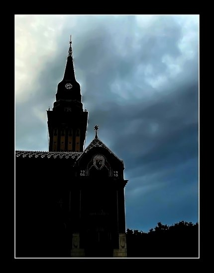 ..... just before the rain .....