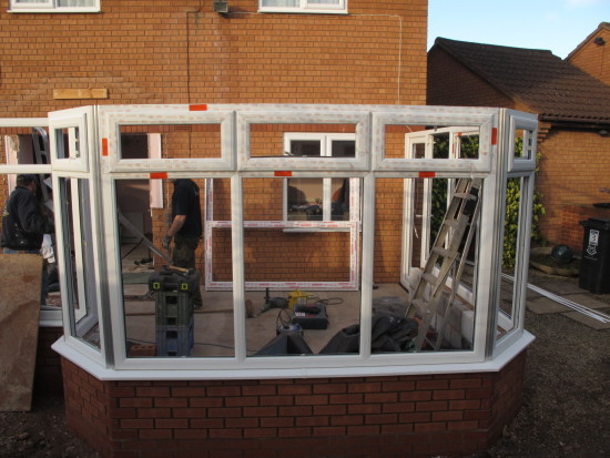 9. Wednesday - the removal of the porch...