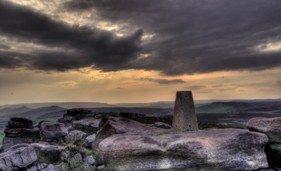 Peak District Derbyshire Stanage