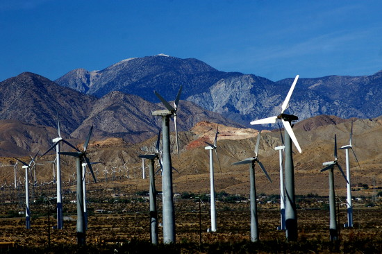 Windturbine Farm San Gorgonio Pass Energy Pankey wind Wildspirit