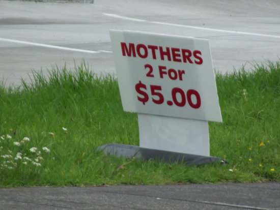 Found this sign today.  ??????