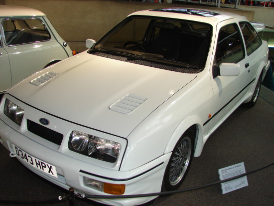 Ford sierra national motor museum beaulieu hampshire topgear exhibition oakslat