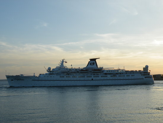 cruiseship portsmouth