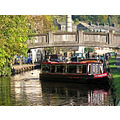 canal boat HebdenBridge Yorkshire