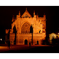 exeter cathedral night