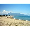 beach sand sea sun Anamur waves