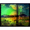 Abstract Desert Picture Wildspirit Pankey Art