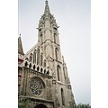 Topped by a tower of stone tracery, Matthias Church, also called the Church of the Blessed Virgin...