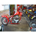 bike motorbike chop chopper