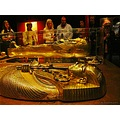 Tutankhamun Malmoe Gold Mummy 2012 October Skane Sweden Visitor