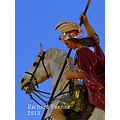 The Dragon Slayer  A paper mache statue of Saint George which forms part of a number of street ...