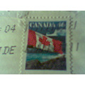 stamp history bell canada picture 2007 lettler mailing ontario flag