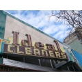 sign Oakland Cleaners neon Ideal