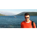man portrait vacation sea herceg novi montenegro