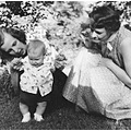 stlouis missouri us usa people portrait baby Nan Marie WJH KAH mom 1956