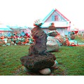 anaglyph 3D stereo rocks collection garden stones