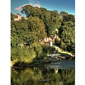 knaresborough yorkshire river nidd landscape