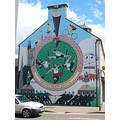 Invergordon Highlands murals