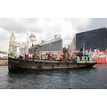 sea odyssey giant spectacular giants boat dock liverpool