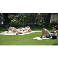 washingtonsquare newyork nyc park women sunbathing grass
