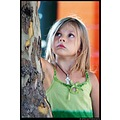 portrait child children kid girl colors