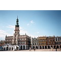 Zamość... a very special example of Renaissance city-planning; a city built according t...