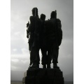 The Memorial Statue  In Scotland To remember the commandos, who died during the 2 world wars