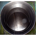 metal tunnel funnel play children playground abstract minimal