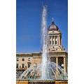 architecture fountain legislature manitoba canada