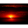 sky sunset mexico realdecatorce sun red