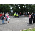 Outrider Torch Relay Bletchingley Police Motorbike Olympics Summer 2012 Surrey