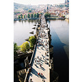charles bridge prague travel europe n75 film kodak