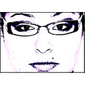 portrait eyes glasses