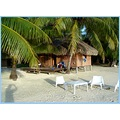 Un motu paisible, id�al pour le repos; Prenez place !