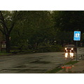 thunderstorm rain street wet hamilton ontario Canada tree earth night