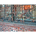 window gallery art ironwork brick bricks oaklandartfph