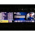 At 9:00pm.At Rogers Centre-Toronto,Ont.,On Friday,July 26,2013