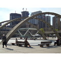 At 5:34pm.Nathan Phillip Square-All re-done-Toronto,Ont.,On Friday.May 3,2013