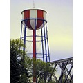 water watertower redwhiteblue red white blue idaho idahofalls