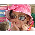 little girl portrait people sunglasses