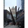 At 4:36pm-On Bremner Blvd-outside next door to the Air Canada Centre-Toronto,Ont.,On Saturday,Mar...