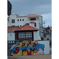 2009 portugal madeira portodacruz village waterfront buildings old grafitti
