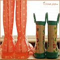 wellies boots pink