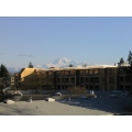 This picture was taken from my balcony. I'm really sad because this new building will block my vi...