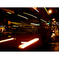 london bondstreet bus doubledecker night lights city motion